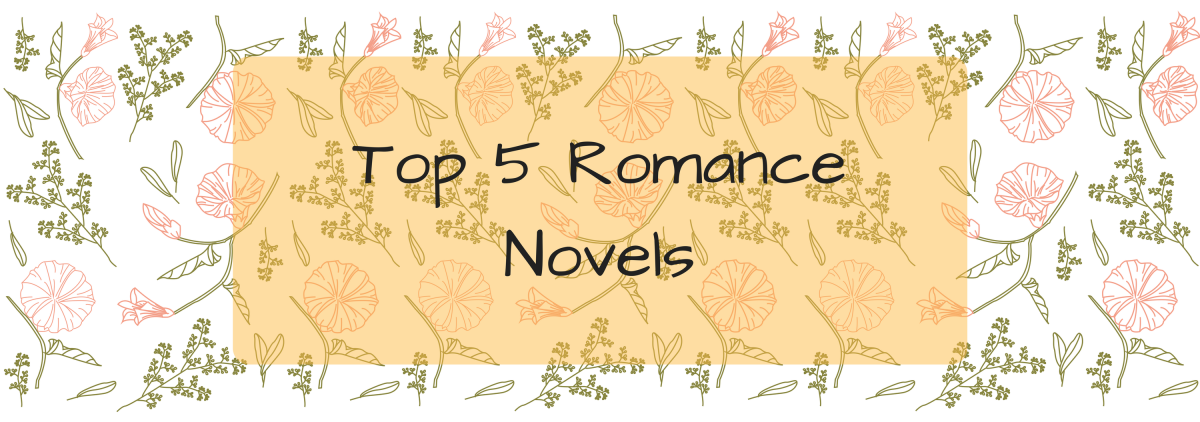Top 5 Wednesday: Favourite Romance Novels