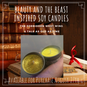 Beauty and the Beast Soy Candles (2)